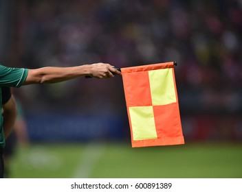 Referee's flag