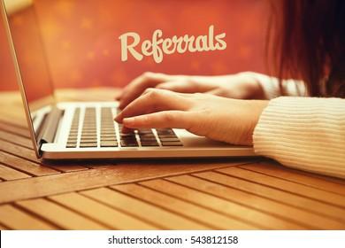 Referrals, Technology Concept