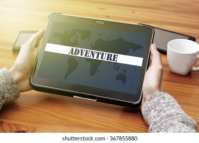 referring to the web of adventure in the tablet