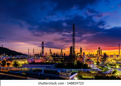 The refinery in Kaohsiung