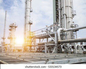 Refinery oil and gas industry