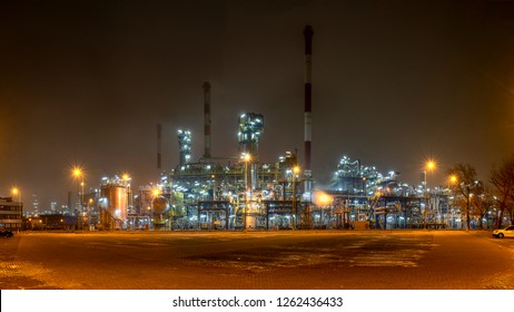 Refinery - oil refinery installation, Poland