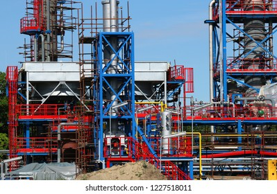 refinery petrochemical plant construction site industry zone