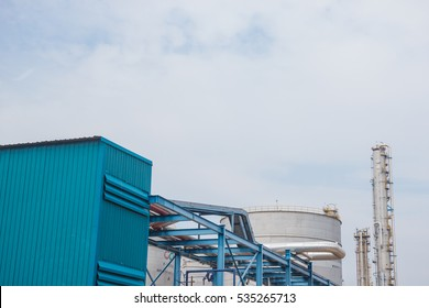 A refinery is a production facility composed of a group of chemical engineering unit processes