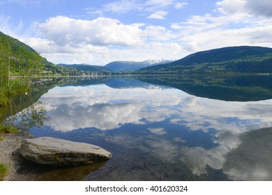 Reflect of Mountain in the water