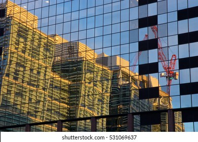 Reflected construction