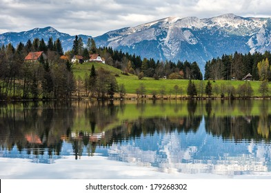 Reflection in the Alps 2