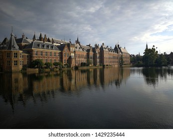 Reflection of Binnenhof (Dutch Parliament), The Hague (Den Haag), Netherlands