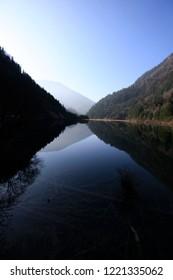 Reflection in Jiuzhaigou Sichuan China