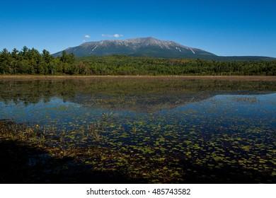 Reflection of Mount Katahdin