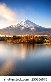 reflection of mt.Fuji