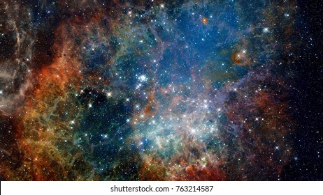 Reflection nebula the site of star formation. Elements of this image furnished by NASA.