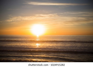Reflection Ocean Sunset