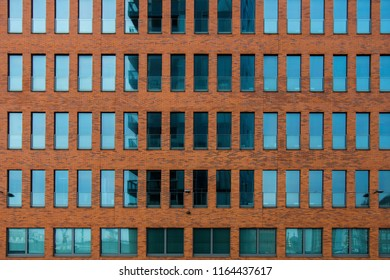 Reflection on a Building in Hamburg