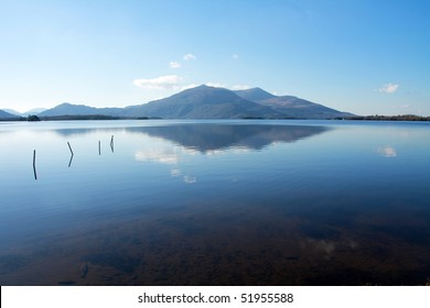 Reflection on the Killarney lake