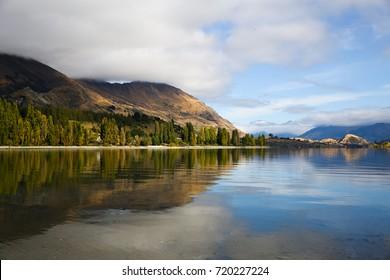Reflection on Wanake Lake