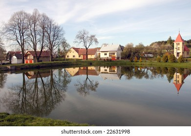 Reflection on water level