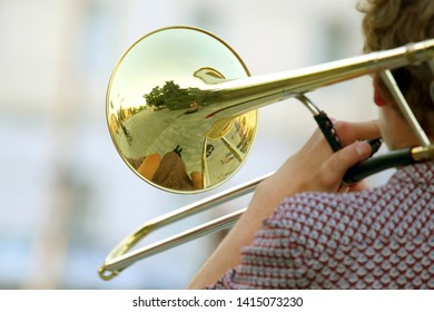 Man Trombone Stock Photos, Images & Photography | Shutterstock