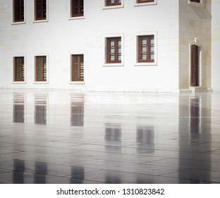 reflection of supreme building in darende malatya