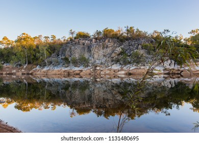 Reflection in water at Walsh River