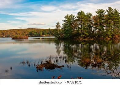 reflection,lake nawahunta new jersey