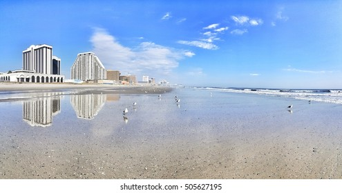 reflections of Atlantic city