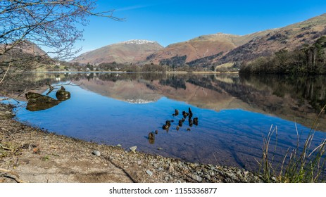 Reflections on Grasmere, Lake District
