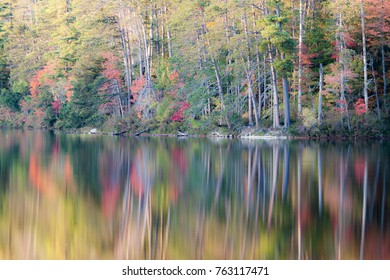 Reflections on peaceful waters