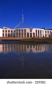 Reflections on power, Australian Parliament House