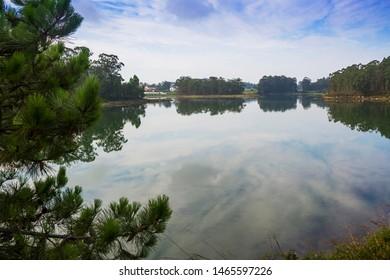 Reflections on Vilanova de Arousa estuary