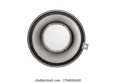 Reflector Silver with Honeycomb Grid Light Modifier with Bowens Mount for Studio Strobes and Flashes. Reflector Bowl and Honeycomb Grid to Constrain and Modify the Light Clipping Path Included in JPEG