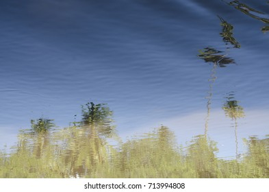 reflex on the sea