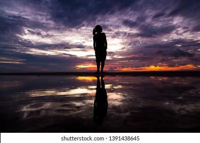 Reflexions at Tapajós River - Amazon