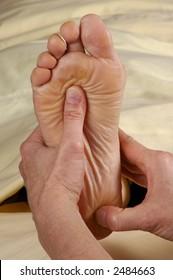 Reflexology Foot Massage Sole and Heel