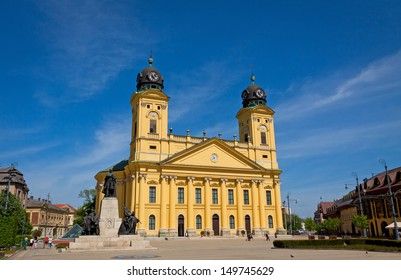 Reformed Great Church in Debrecen city, Hungary