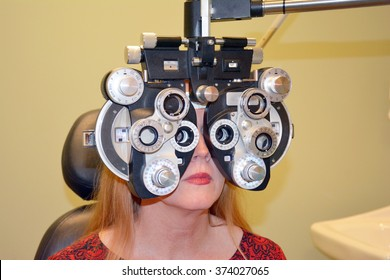 Refractive Eye Exam