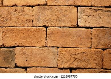Refractory brick is light brown.