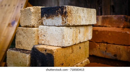 Refractory brick from old fireplace