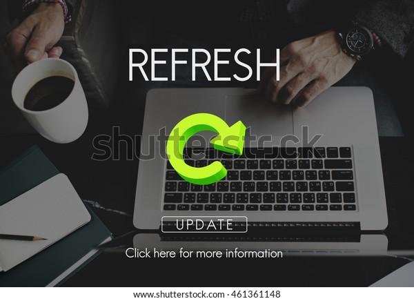 Refresh Restart Beginning Renew Concept