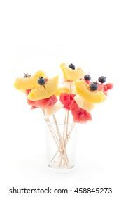 Refreshing Fruit Skewers - Fruit Snack.