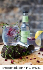 A refreshing gintonic perfect for the summer