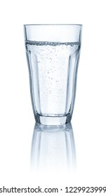Refreshing glass of water