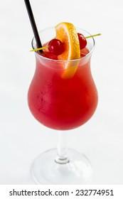 A refreshing Hurricane cocktail
