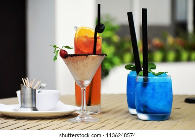 refreshment drink mocktail