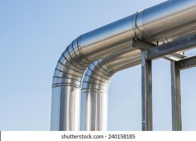 Refrigerant pipes