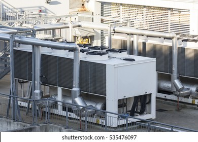 refrigerating unit for realization chilled water in an industry