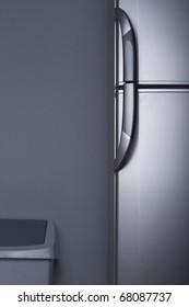 Refrigerator door - close up