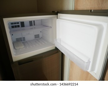 Refrigerator freezer in the house