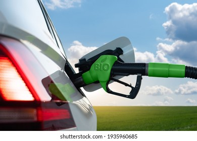 Refueling the car with biofuel