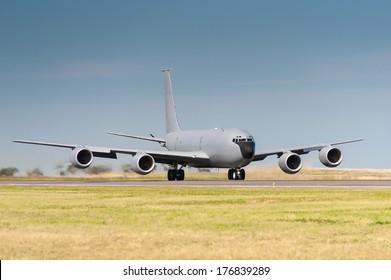 Refuel-ling Aircraft on runway